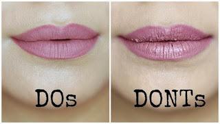 Cara Memakai Lipstik Matte Sesuai Bentuk Bibir, Awet Dan Tahan Lama