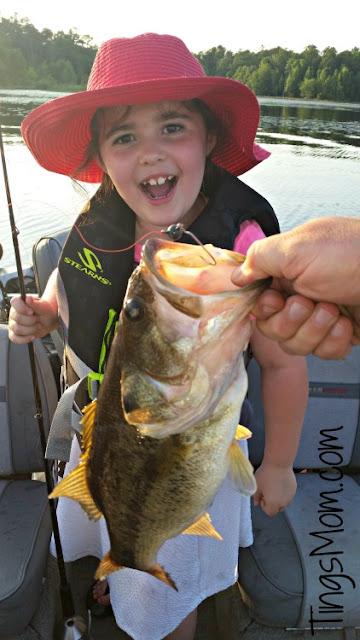 ting goes fishing
