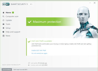 erorr update ,gagal update,virus signature database pada Eset Smart Security9