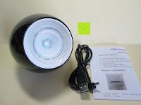 Erfahrungsbericht: OriGlam® New Touching Schalter, Farbe Bar Design, 256 Farben-Licht-Lampe Atmosphäre Licht mit eingebautem Akku Verwendet als Schreibtischlampe Ambience Licht für Dekoration Weihnachts Yoga (schwarz)