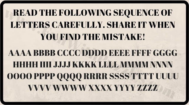 Can you find mistake image puzzle