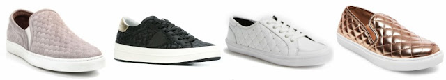 "One of these pairs of quilted sneakers is from Target for $25 and the other three are from designers for $120 to $595. Can you guess which one is the ""impostor""?"
