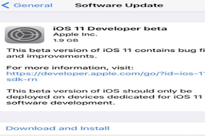 How to Update iOS 11 on iPad?