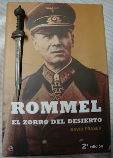 Portada del libro Rommel. El zorro del desierto, de David Fraser