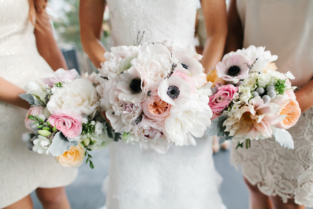 shabby+chic+wedding+spring+summer+pastel+champagne+pink+black+white+bride+groom+bouquet+ceremony+centerpiece+floral+flower+bridesmaid+dresses+dress+riverland+studios+3 - Charleston Pastel