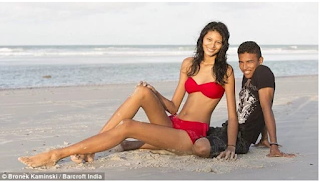 Short Man Finds Love In A Pretty Lady Almost Twice His Height [Photos]