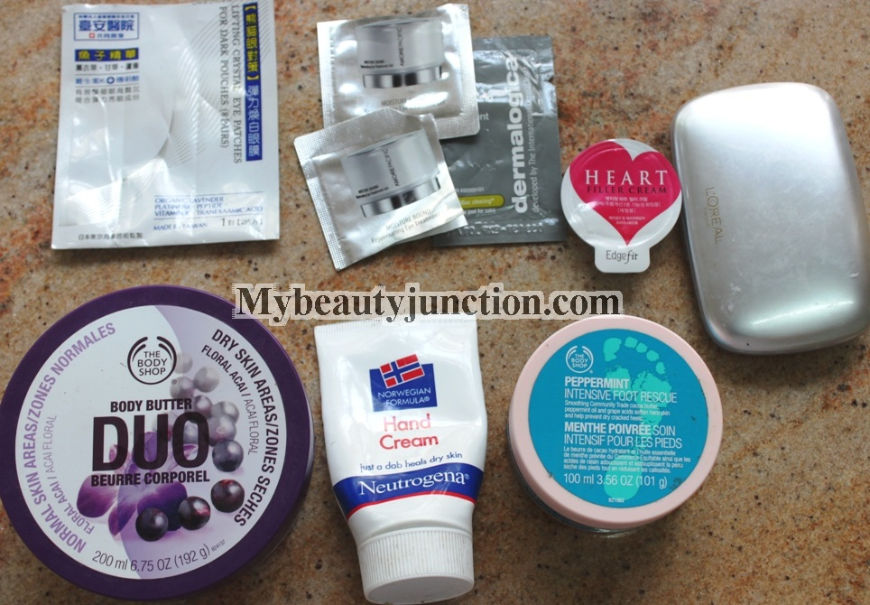 Beauty products used up in January 2014 and quick thoughts on each