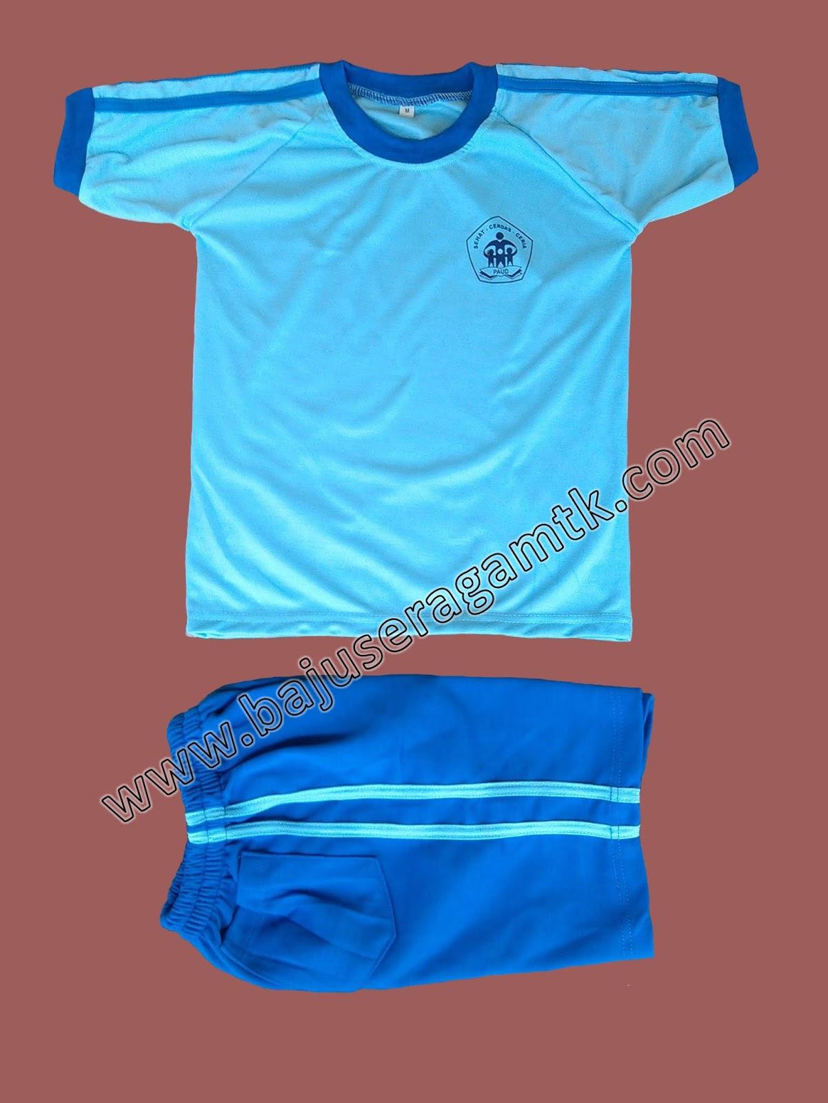 jual baju seragam olahraga TK PAUD