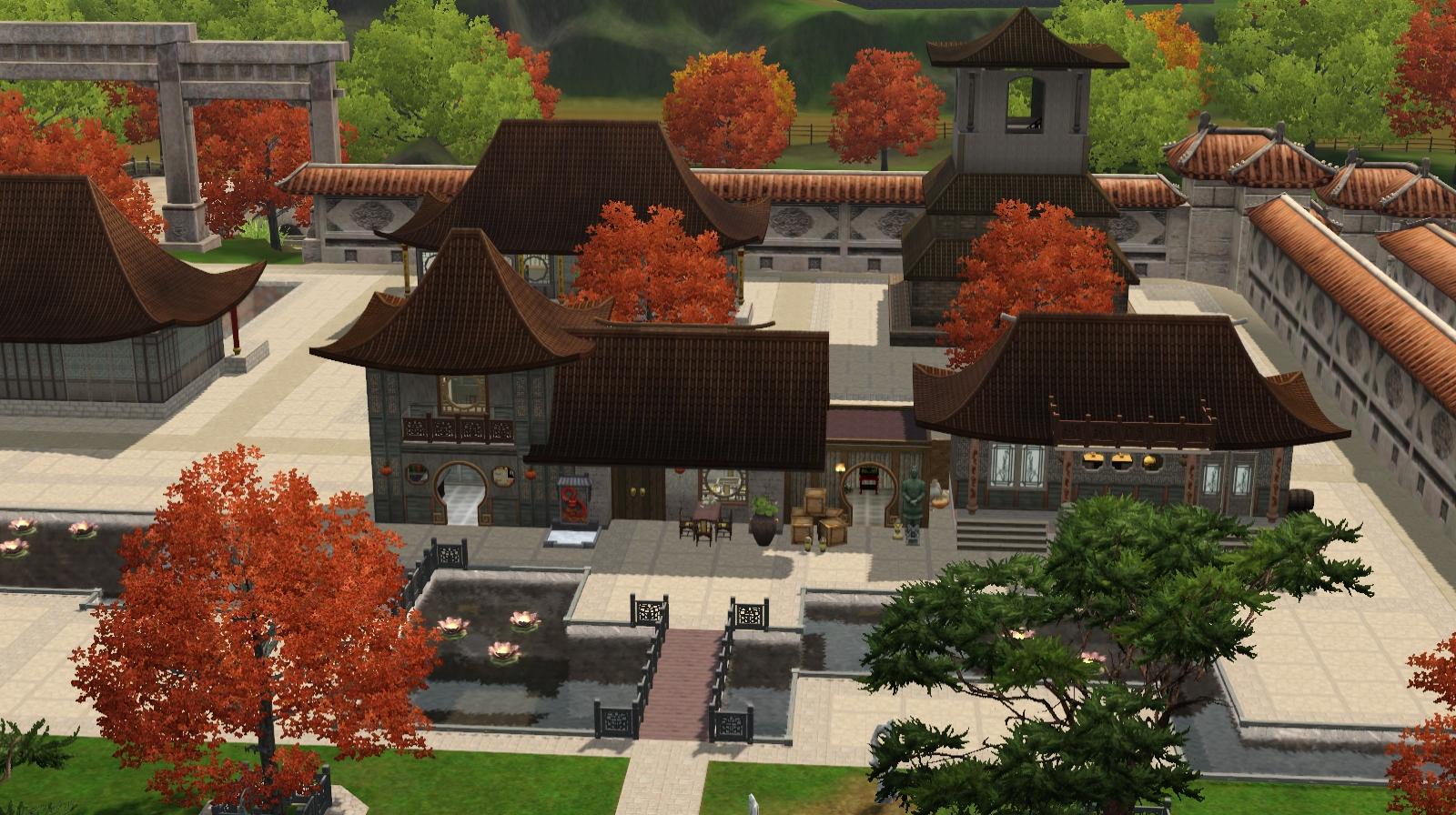 sims 3 community lots compendium sims 3 markets. Black Bedroom Furniture Sets. Home Design Ideas