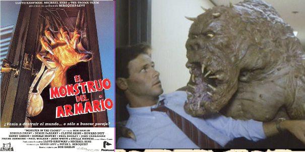 El monstruo del armario, película