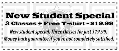 Become a member of our Tempe, AZ martial arts classes by taking advantage of our new student special!