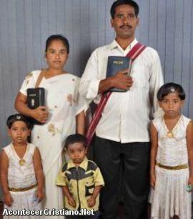 Pastor evangélico sufre persecución en la India