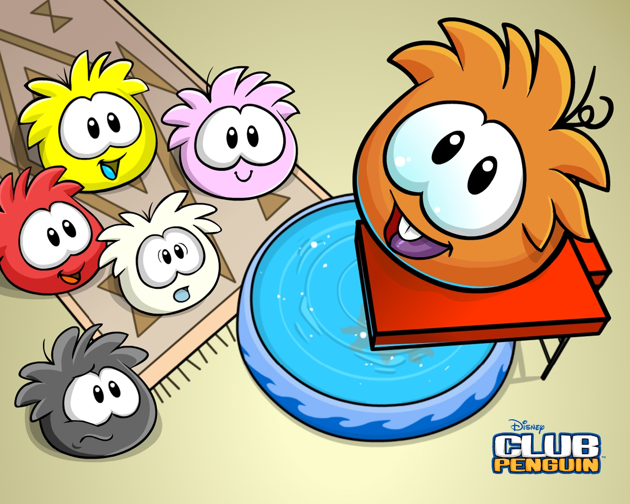 "H Club Penguin ""Club peng..."