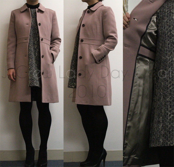Review J Crew Double Cloth Lady Day Coat J Crew Double Cloth
