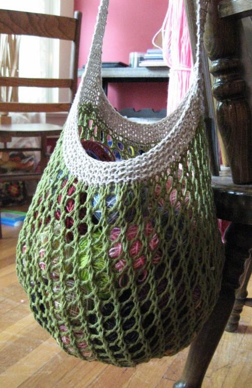 Grrlfriend Market Bag - Free Pattern