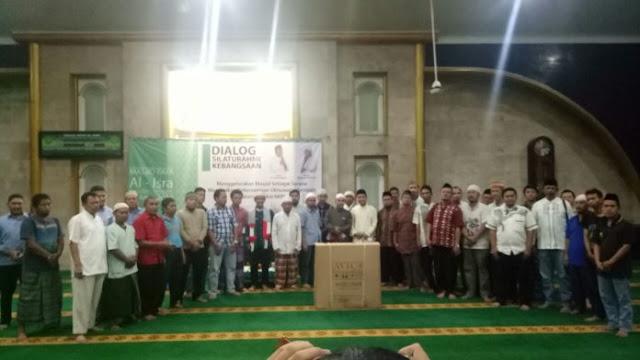 "Patut Dicontoh, Masjid Al-Isra Jakarta Barat Deklarasikan ""Tolak Politisasi Masjid"""