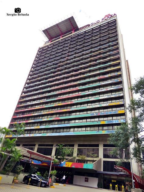 Vista ampla do Maksoud Plaza Hotel - Bela Vista - São Paulo