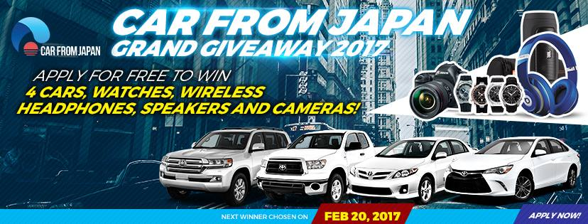 Car Giveaway 2017 >> Grand Giveaway 2017 Win 20 Car Freebie Giveaway Contest Win
