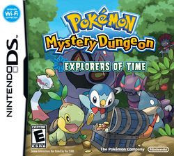 Pokemon Mystery Dungeon: Explorers of Time, NDS, Español, Mega, Mediafire
