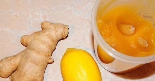 корень имбиря лимон и мед для похудения