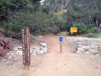Mystic Canyon trailhead, Big Dalton Canyon Road, Glendora