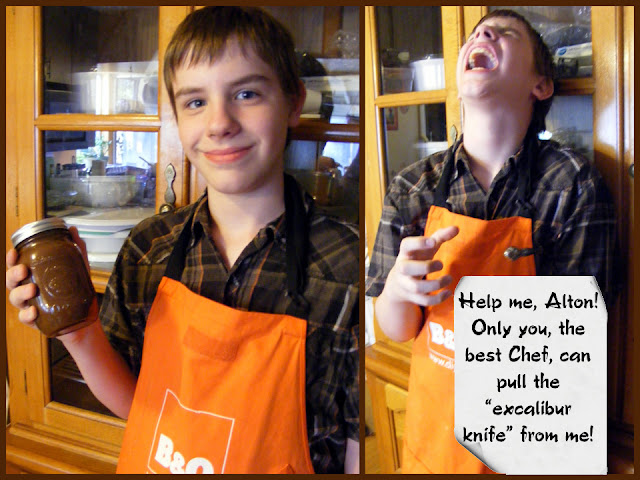 Chef Bretto hopes to meet Alton Brown!
