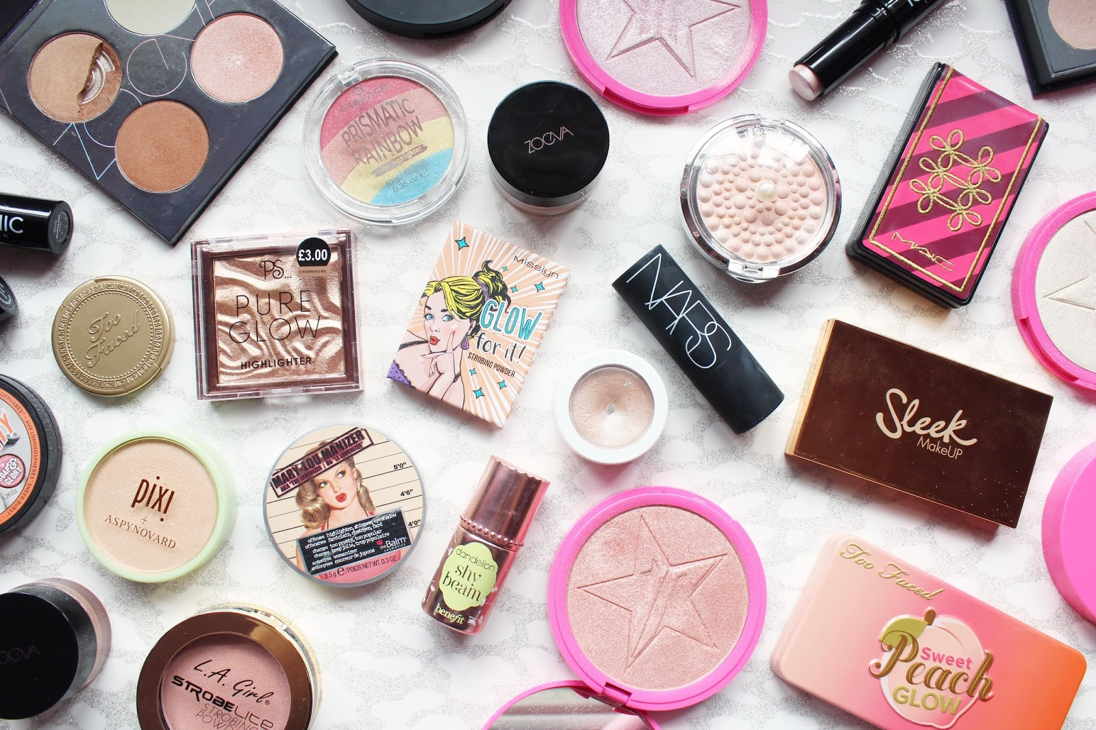My Highlighter Collection