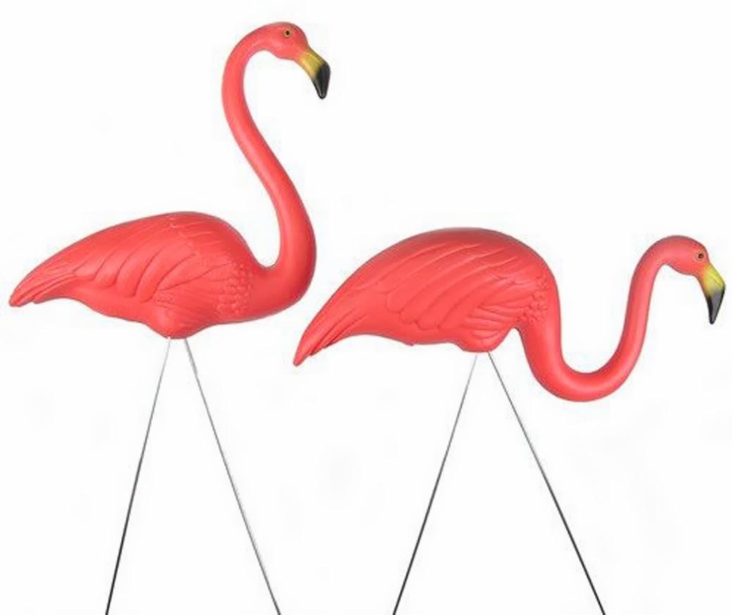 Vintage Pink Flamingos 26