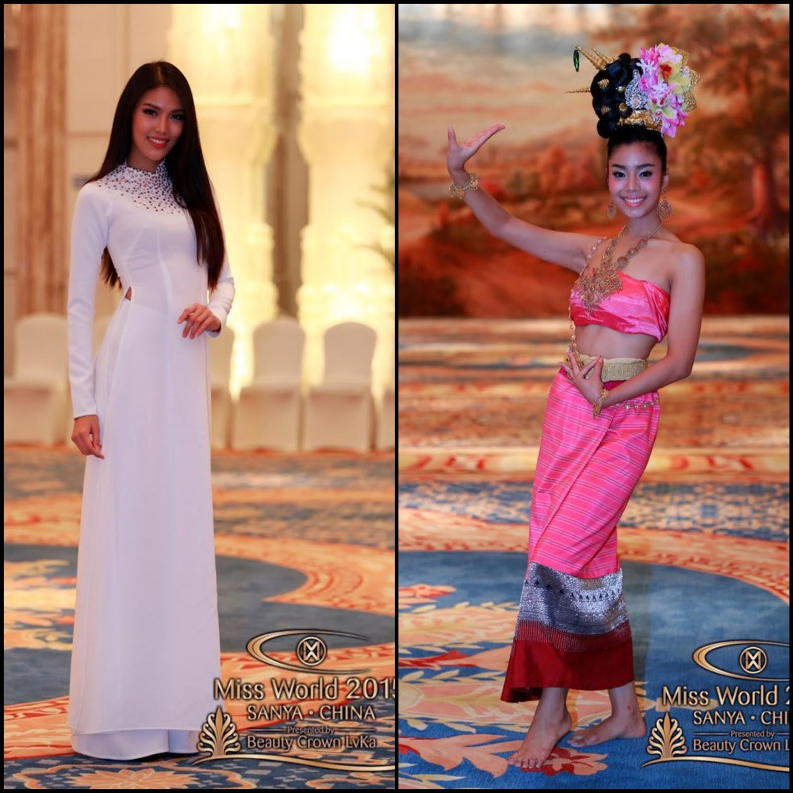 Sashes And Tiaras Miss World 2015 National Costumes