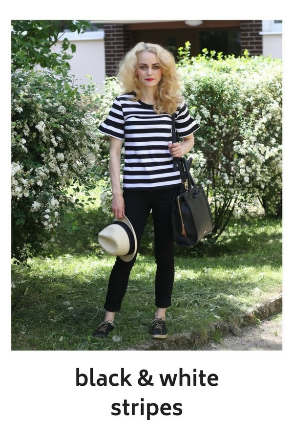 Black & white stripes – inspired by COCO CHANEL