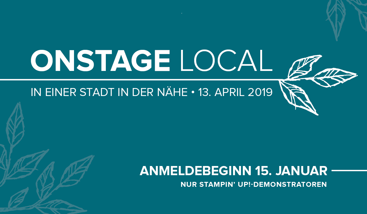 Onstage im April