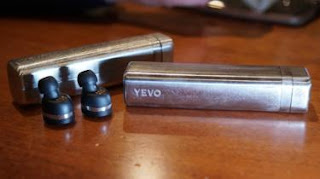 These headphones are made from recycled guns by Yevo Labs