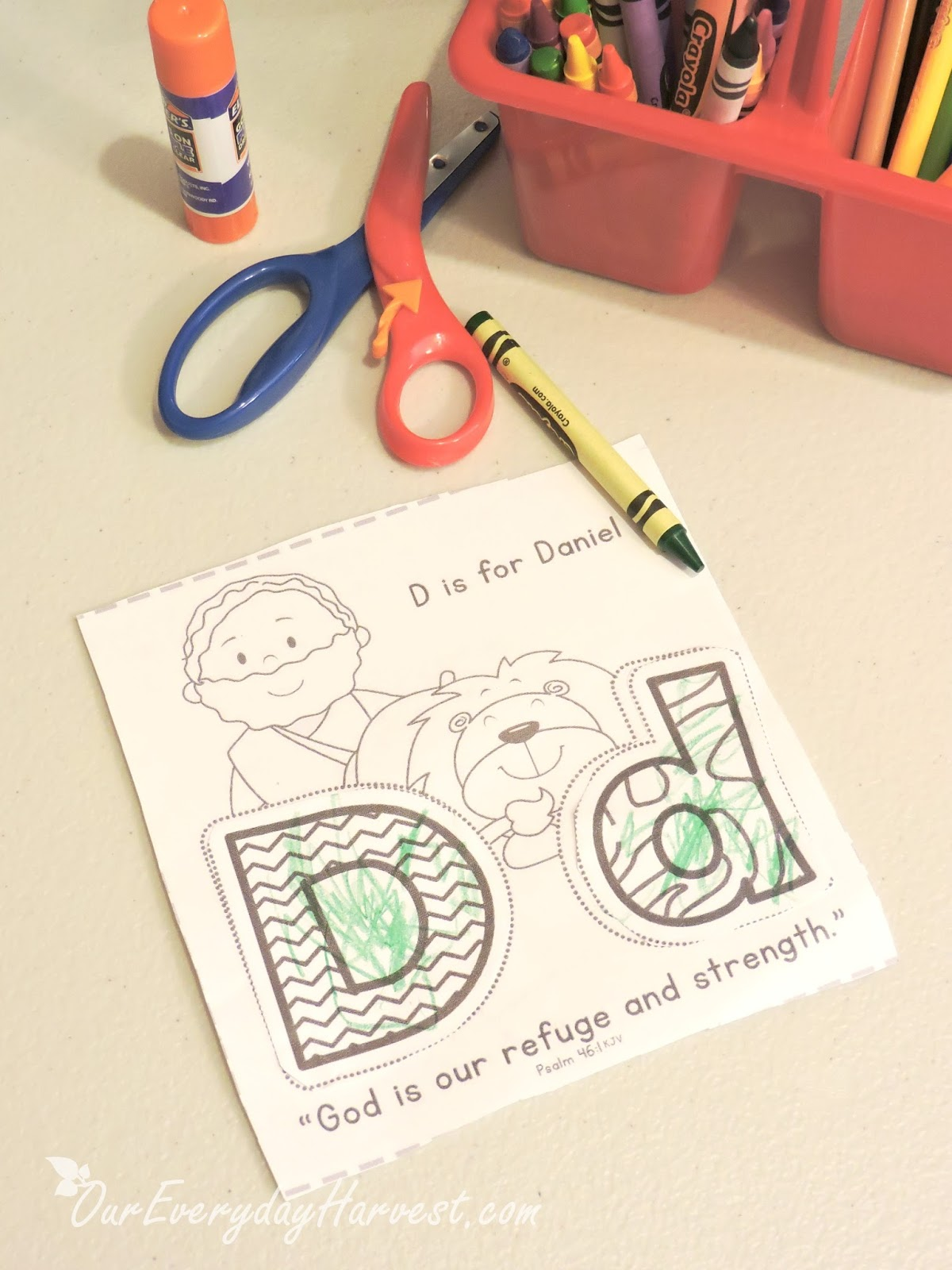 Preschool Language Arts Combined With Biblical Truths The