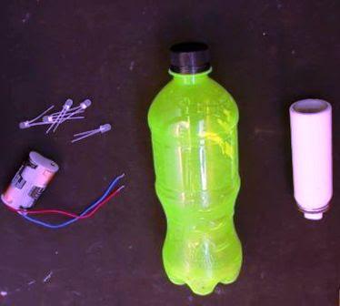 botol plastik dan bekas sprayer deodoran