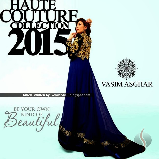 Embroidered Dress Collection by Vasim Asghar