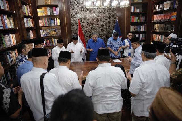 SBY Jadi Ketua Tim Pemenangan Prabowo-Sandi?
