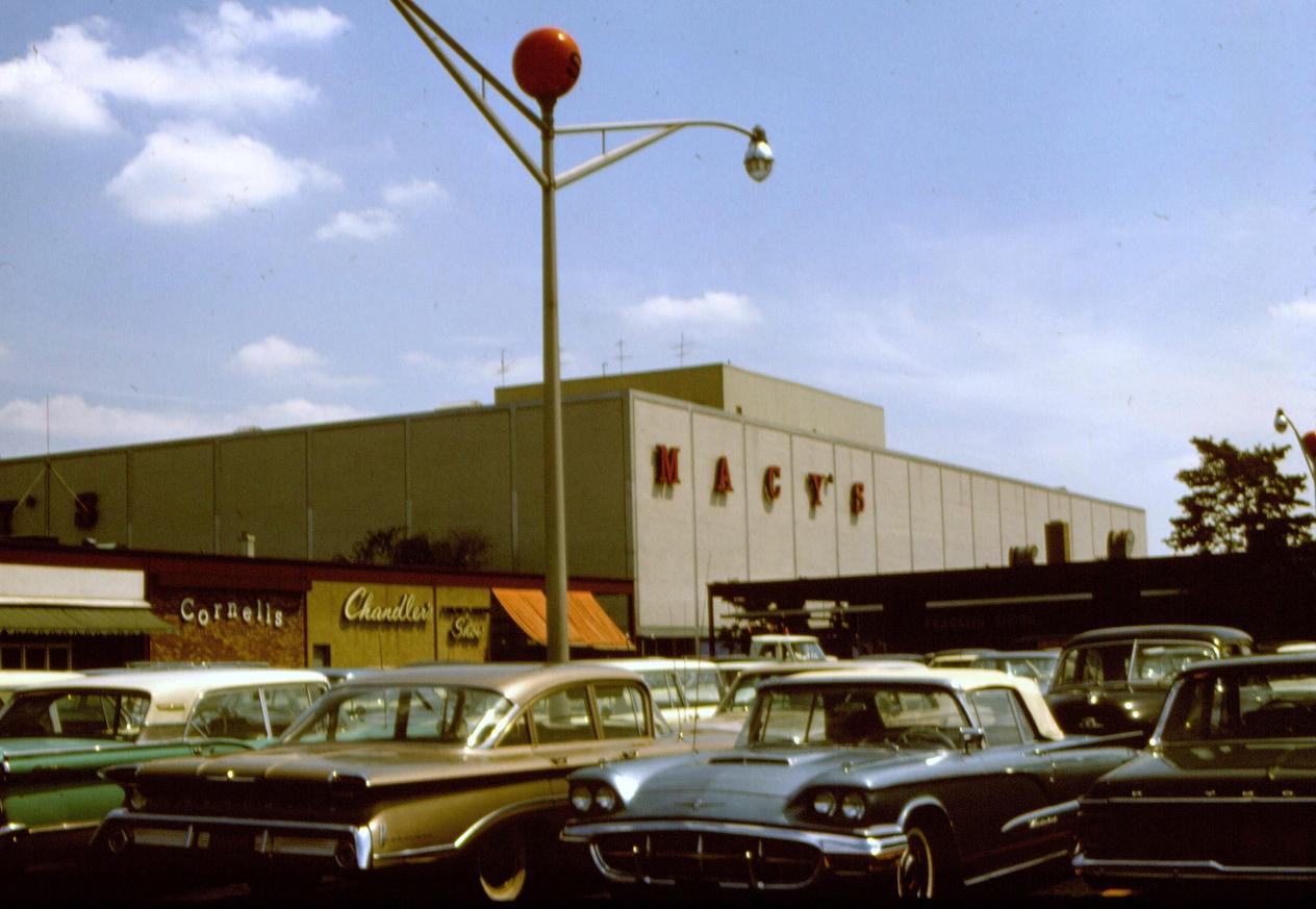 Pleasant Family Shopping: Roosevelt Field Shopping Center, 1965