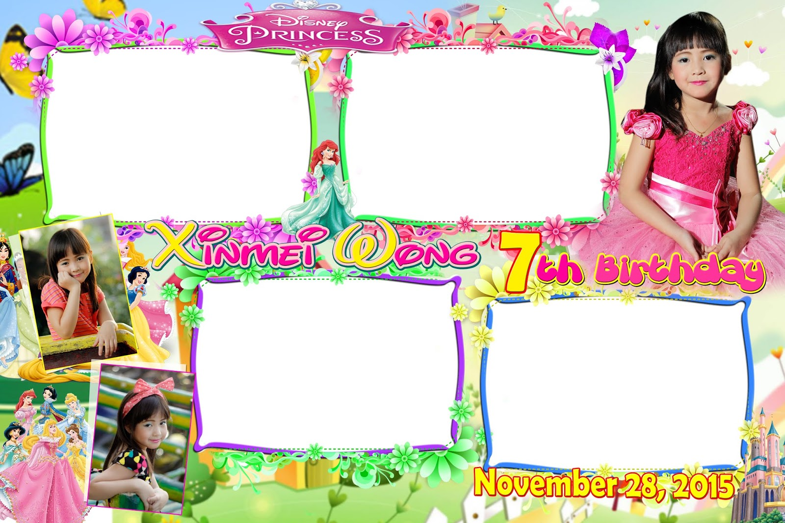 ideal disney princess layout for 7th
