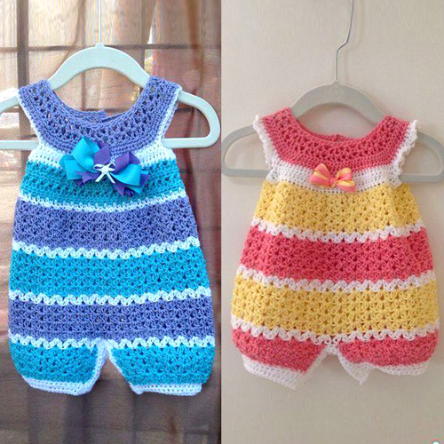 Openwork Overalls for Kids - Tutorial