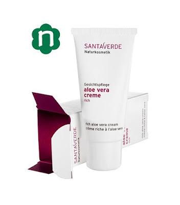 Crema hidratante de Santaverde
