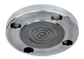 diaphragm seal for industrial process pressure sensor or gauge