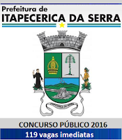Apostila para concurso Prefeitura Itapecerica da Serra/SP.