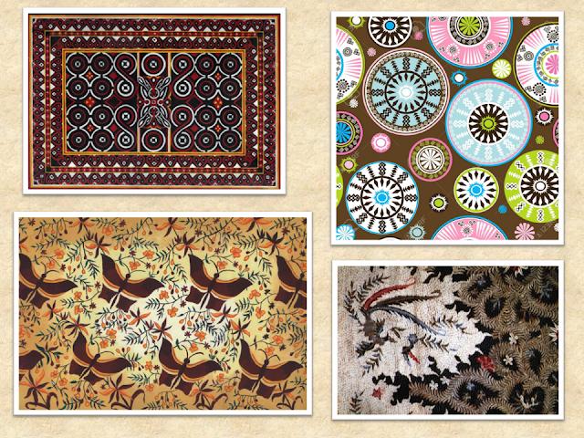 nama kerajinan gambar sketsa ragam hias nilai estetika