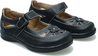 Sepatu Anak Perempuan  Pakai Perekat BDA 198