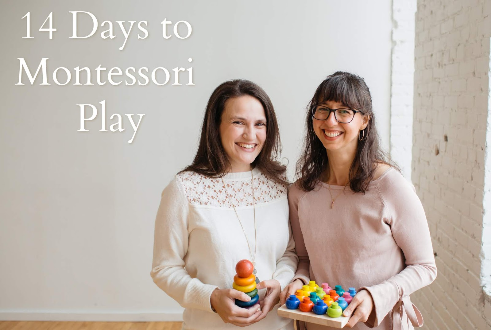 14 Days to Montessori Play is a parent's guide to better, more purposeful play! Come join to learn how to use Montessori's proven methods with your baby and toddler.