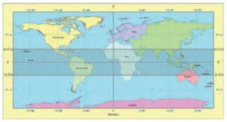Letak dan Luas Indonesia dalam Peta