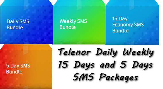 Telenor Talkshalk SMS Packages