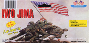 BMC Toys Iwo Jima Flag Raising Bagged Set