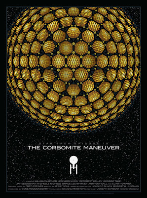 Star Trek: The Corbomite Maneuver Standard Edition Screen Print by Todd Slater