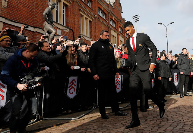 Manchester United Rashford Vs Fulham FC